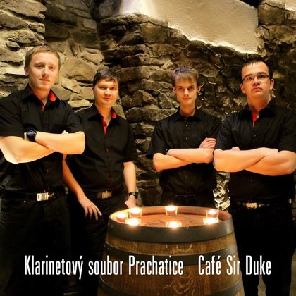 CD Café Sir Duke / Klarinetový soubor Prachatice (2015)