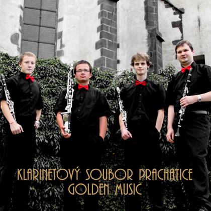 CD Golden Music / Klarinetový soubor Prachatice (2012), reedice 2013
