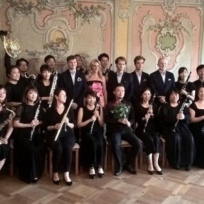 25.8.2019 / společný koncert Sapporo Wood Winds Orchestra Japan a Klarinetového souboru Prachatice, Městská knihovna, Prokyšův sál, Český Krumlov