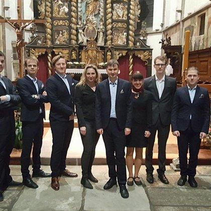 5.4.2018 / Společný koncert Klarinetový soubor Prachatice - Pěvecký sbor Fontána