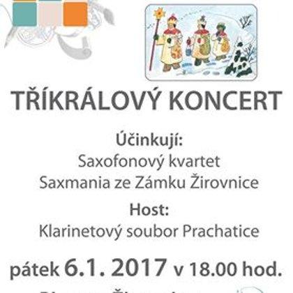 7. a 6.1.2017 / Tříkrálový koncert, Planá nad Lužnicí, Žirovnice