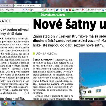 Klarinetový soubor přivezl z Bratislavy další cenu / 5+2 Prachaticko 30.4.2015