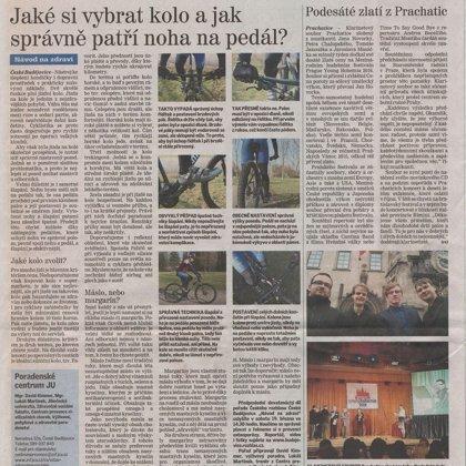Podesáté zlatí z Prachatic / Českobudějovický deník 16.12.2015