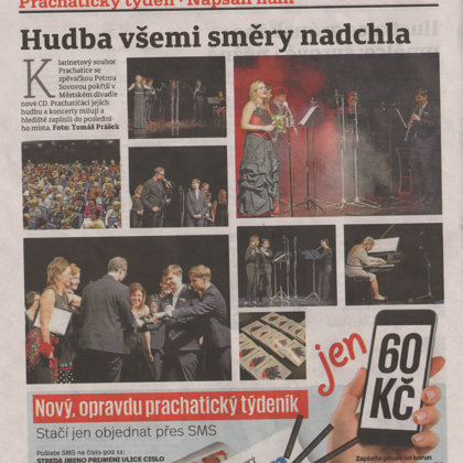 Hudba všemi směry nadchla / Deník plus 7.11.2018