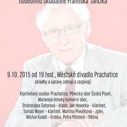 9.10.2015 / Narozeninový koncert skladatele Františka Jančíka, Městské divadlo Prachatice