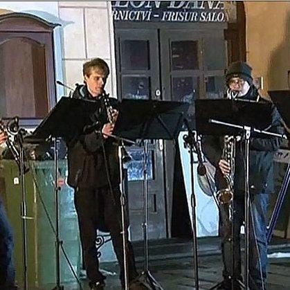 1.1.2015 / Novoroční vystoupení, Velké náměstí, Prachatice