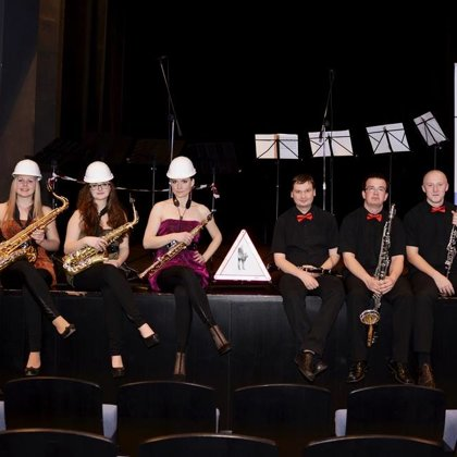 3.4.2014 / Klarinet versus saxofon, koncert, Městské divadlo, Prachatice