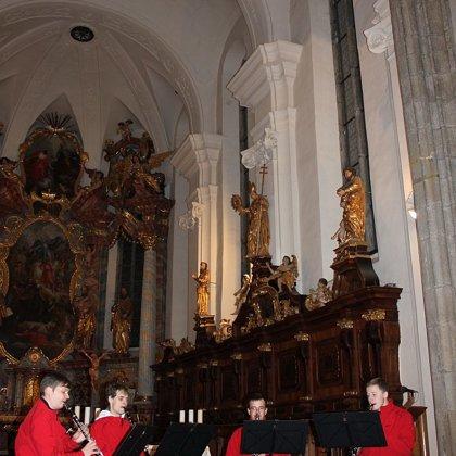 21.12.2014 / Adventní koncert,Kostel sv.Jiljí a Panny Marie, Třeboň