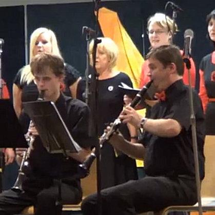 19.12.2013 / Adventní koncert pěveckého sboru Maraveja, Muzeum loutek, Prachatice