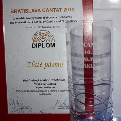 10.-13.10.2013 / Mezinárodní festival Bratislava Cantat 2013, sootěž, koncert, Bratislava (SK)