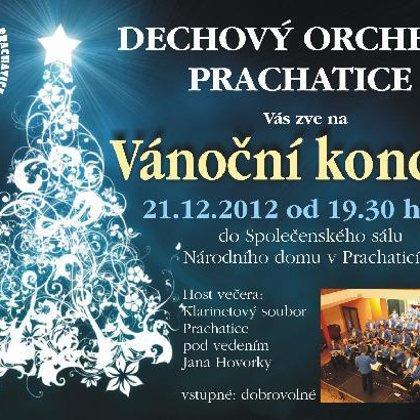 21.12.2012 / Adventní koncert DO Prachatice, Národní dům, Prachatice