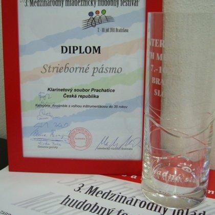 7.-11.7.2011 / Mezinárodní mládežnický hudební festival, Bratislava (SK)