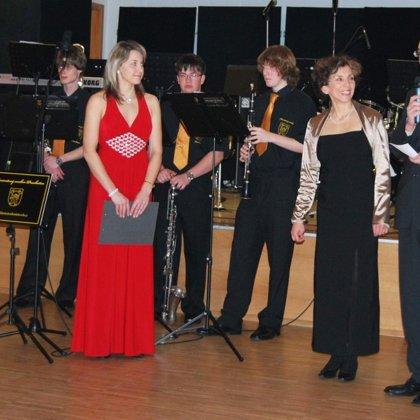 13.2.2010 / Vystoupení na plese, Národní dům, Prachatice