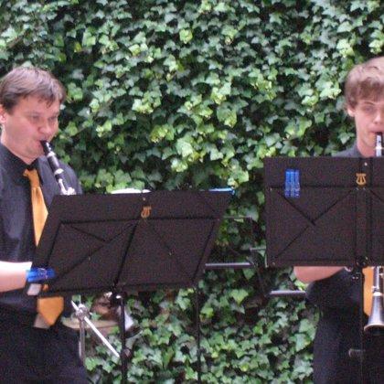 22.6.2010 / Třídní koncert, dvorek hudební školy, Prachatice