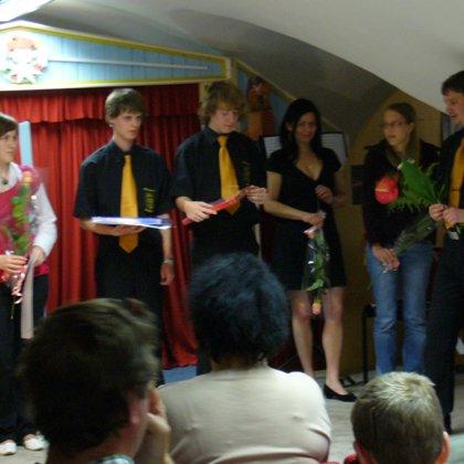 24.6.2010 / Absolventský koncert, Muzeum loute a Cirkusu, Prachatice