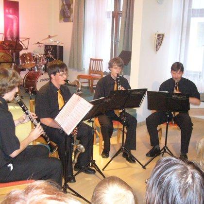 24.6.2009 / Koncert na dvorku, hudební škola, Prachatice