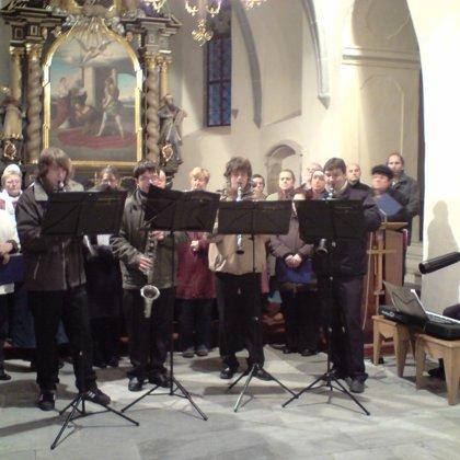 6.12.2009 / Adventní koncert, Lažiště, Záblatí