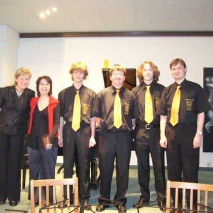 14.4.2009 / Klavírní koncert Evy Matouškové, sál hudební školy, Prachatice