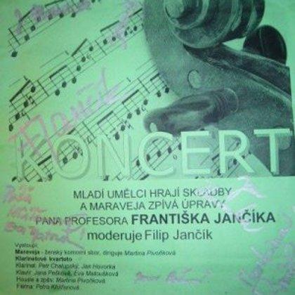 14.11.2008 / Koncert Františka Jančíka, Městské divadlo, Prachatice